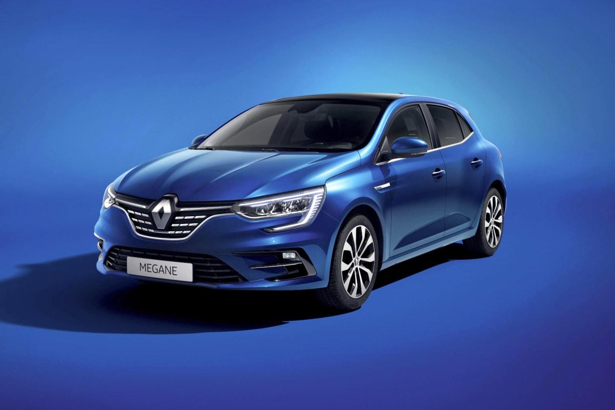 Front und Seite des Renault Megane 2020 Facelift