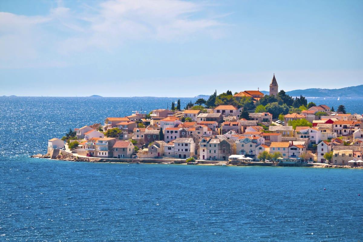Stadt am Meer in Kroatien