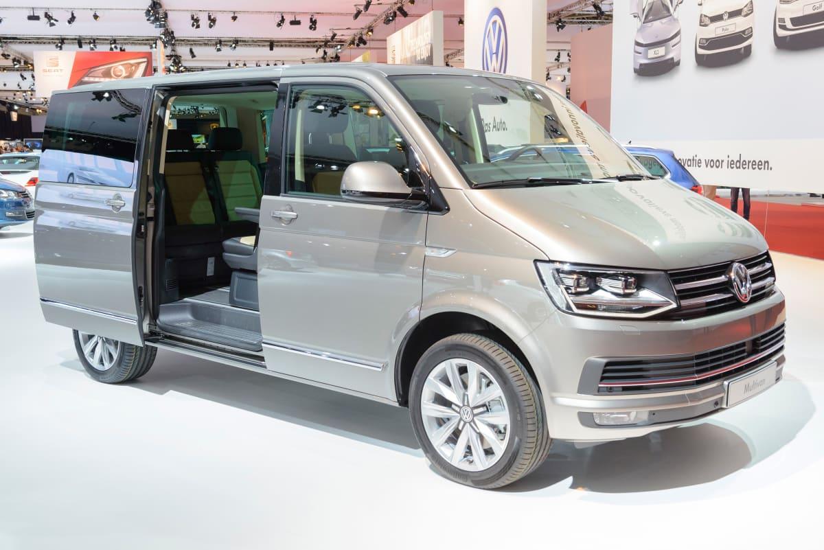 VW Multivan T6 auf einer Messe
