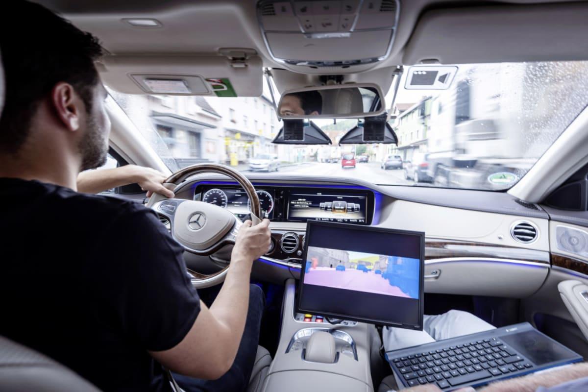 autonomer Mercedes im Test