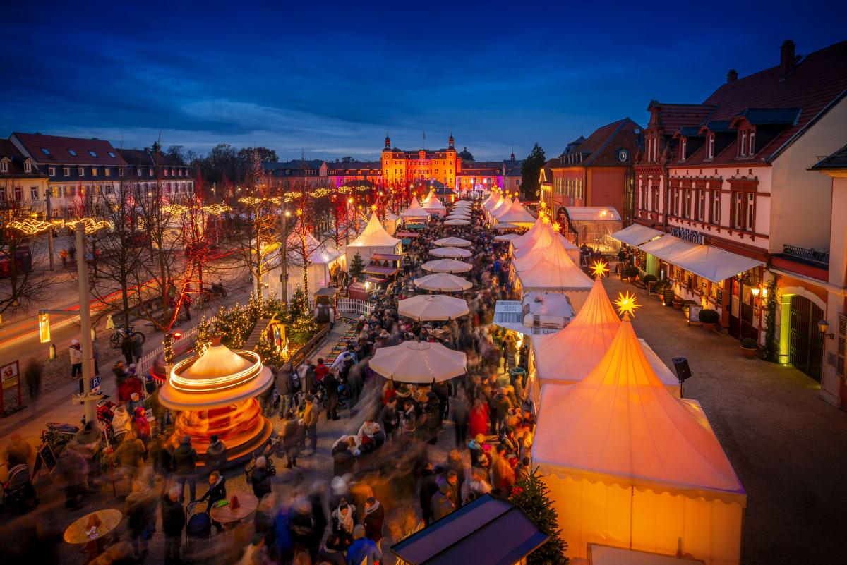 Weihnachtsmarkt am Schloss Schwetzingen