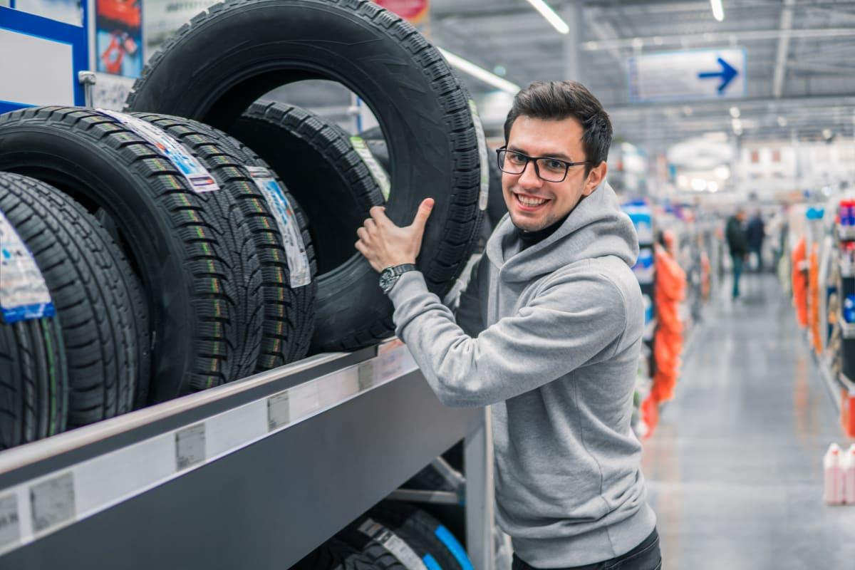 Reifenkauf beim Fachhändler
