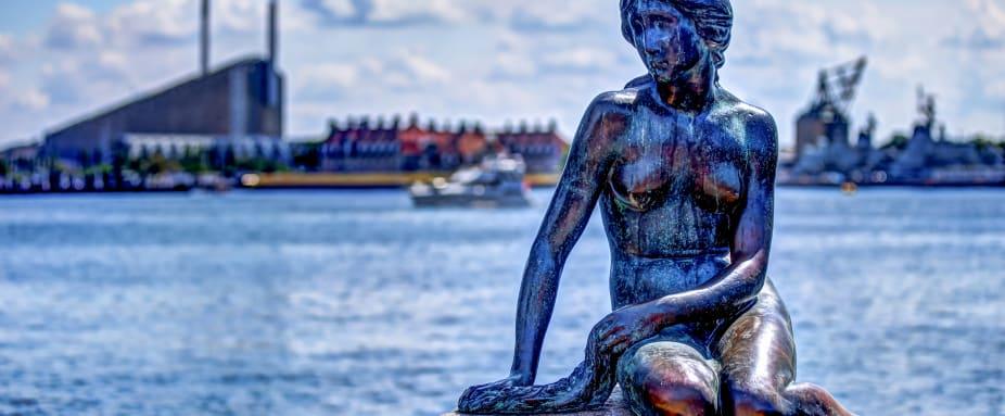 Die Meerjungfrau in Kopenhagen